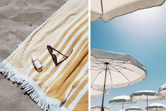 strandhåndklær